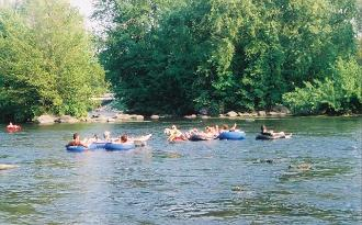 Picture of Tubing near Wolf River Getaway